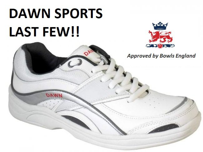 Dawn Sports Lawn Bowls Shoes (Sizes 3 & 8 Only)