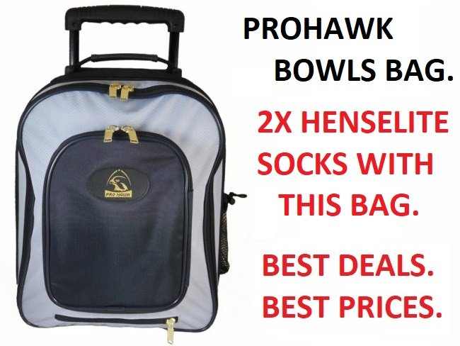 Prohawk Stay Dry Trolley Bag. Tried & Tested.