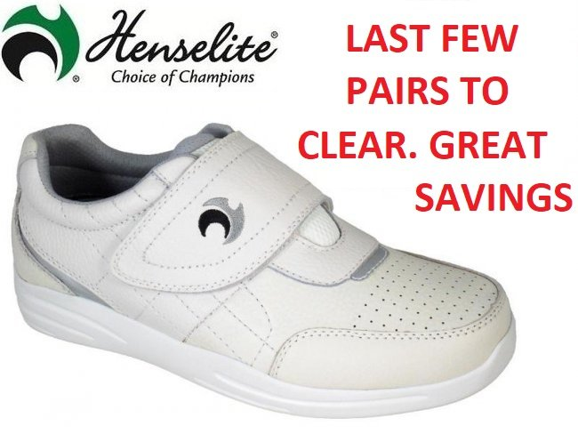 Henselite Pro Sports Velcro Bowls Shoe. 6 Only