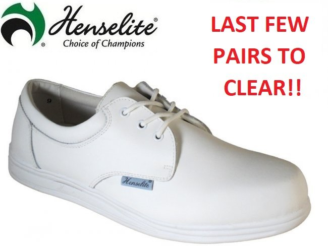 Henselite Victory Leather Lawn Bowling Shoe.