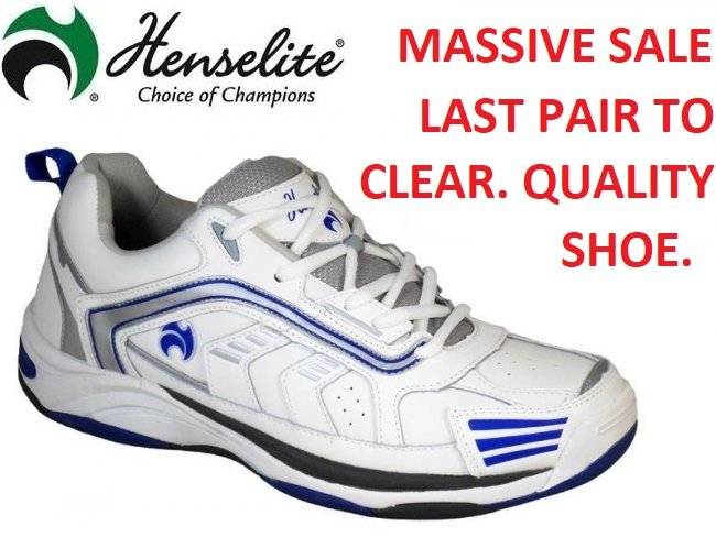 Henselite MPS44 Lawn Bowls Shoes 6 ONLY
