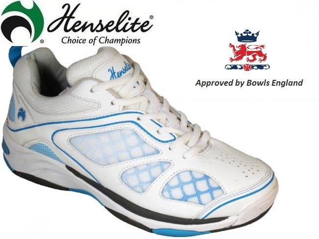 Henselite LPS40 Lawn Bowls Shoes SIZES 3 & 6