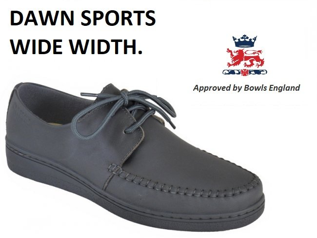 Dawn Sports Lace Lawn Bowls Shoe. Last Pair Size 8