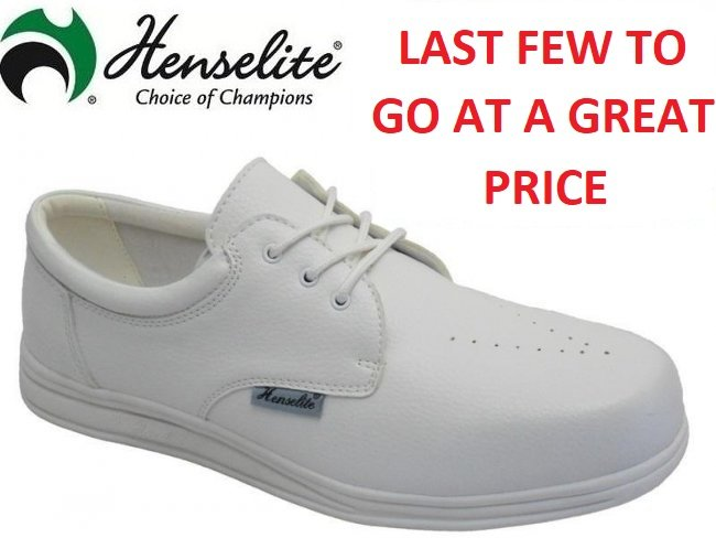 Henselite Victory Lawn Bowling Shoes.  6 & 10 Only