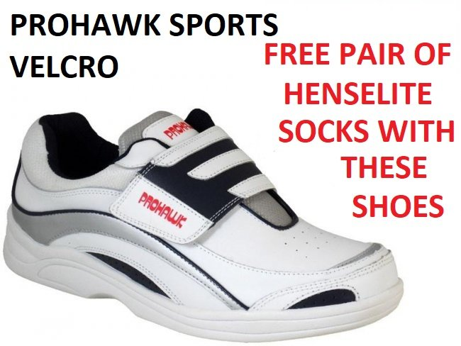 Prohawk Sports Velcro Lawn Bowls Shoes