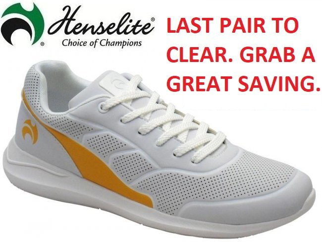 Henselite HM74 Lawn Bowling Shoe SIZES 12 Only