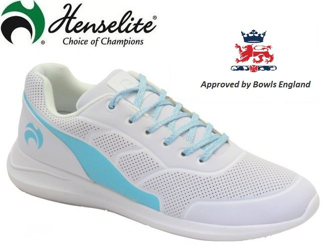 Henselite HL74 Ladies Lawn Bowling Shoe. Top Of The Range.