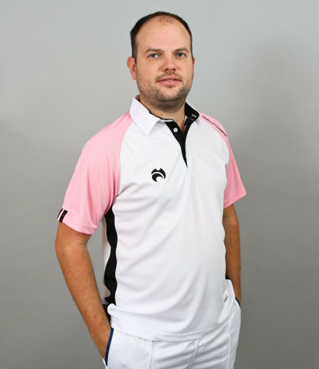 Choice of Champions Polo White Pink Black