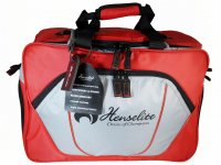Henselite Professional Sport Bag Red/Grey