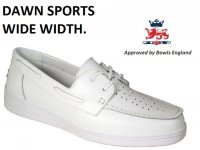 Dawn Sports DL20 Lawn Bowling Moccasin. Wide Fit