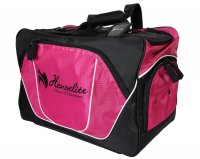 Professional Sport Lawn Bowls Bag Pink and Black