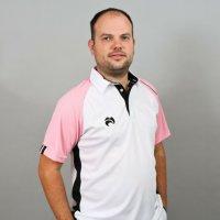 Henselite Choice of Champions Polo White Pink Black