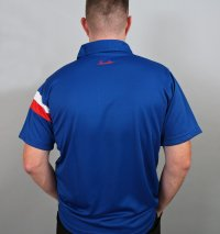 Henselite Britannia Lawn Bowling Polo in Blue.  QUALITY PRODUCT!!!
