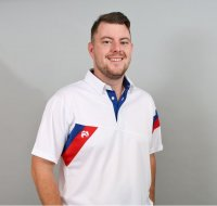 Henselite Britannia Lawn Bowling Polo in White.  QUALITY  PRODUCT!!!