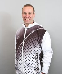 Henselite Lawn Bowling All-in-One Jacket Black.