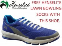 Henselite HM75 Sports Lawn Bowling Shoes. Top Of The Range Bowls Shoes.